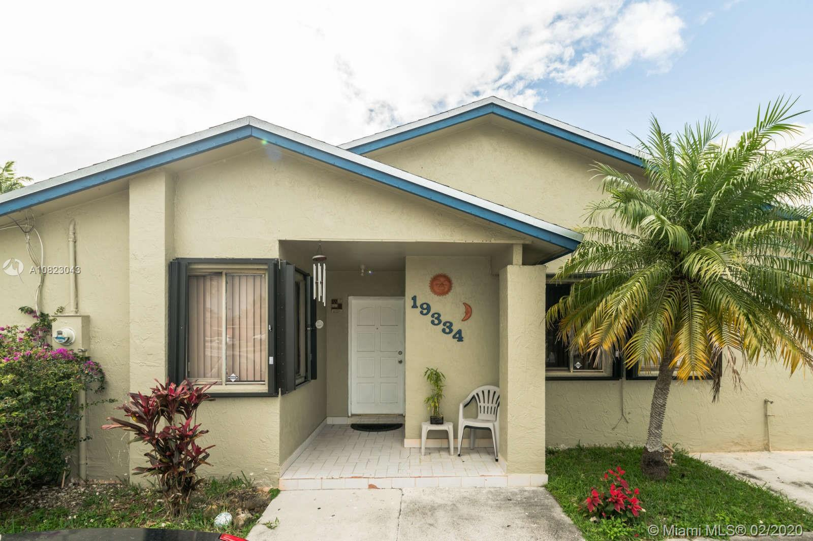 19334 SW 121st Ct  For Sale A10823043, FL