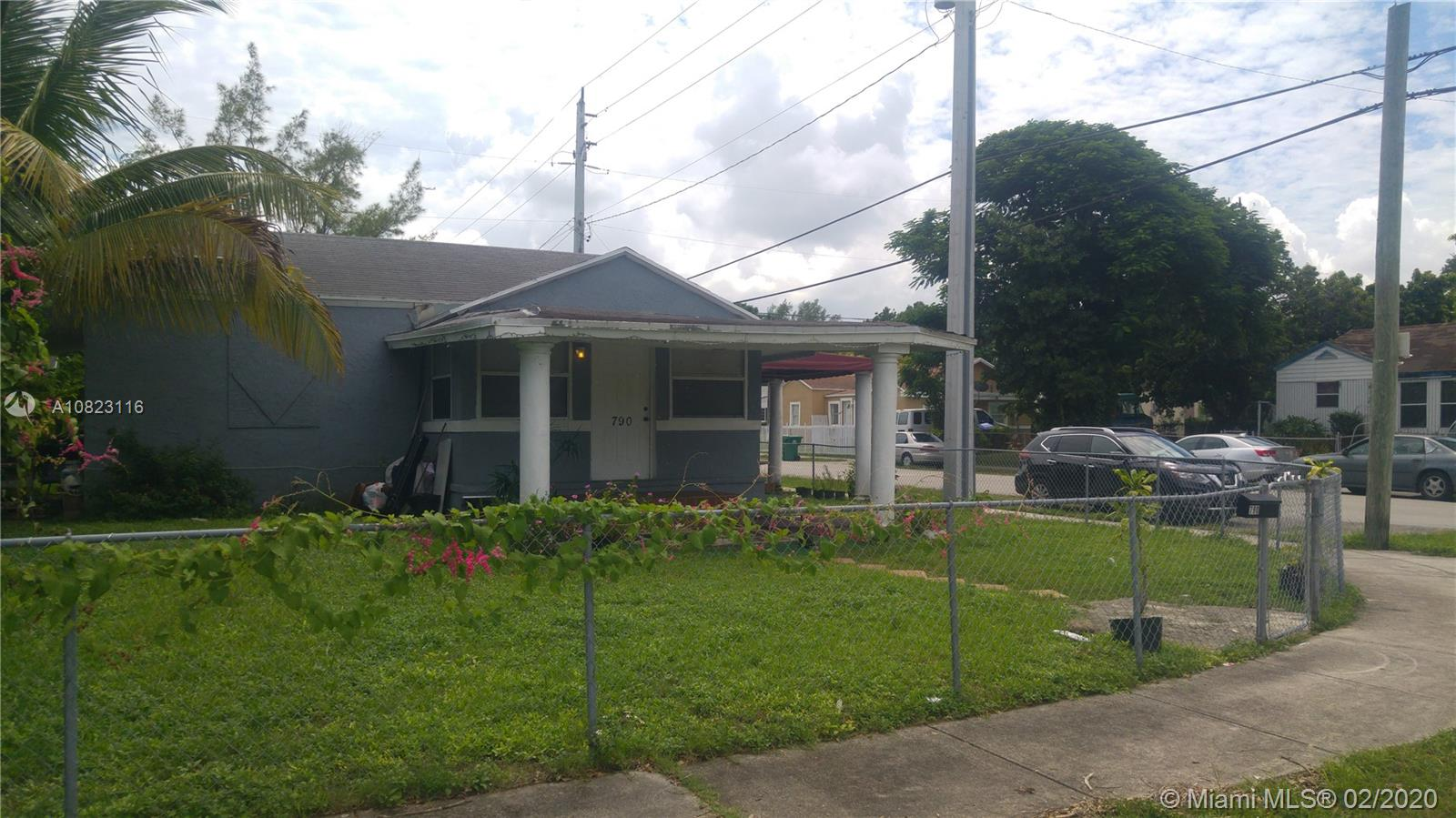 790 NW 65th St  For Sale A10823116, FL