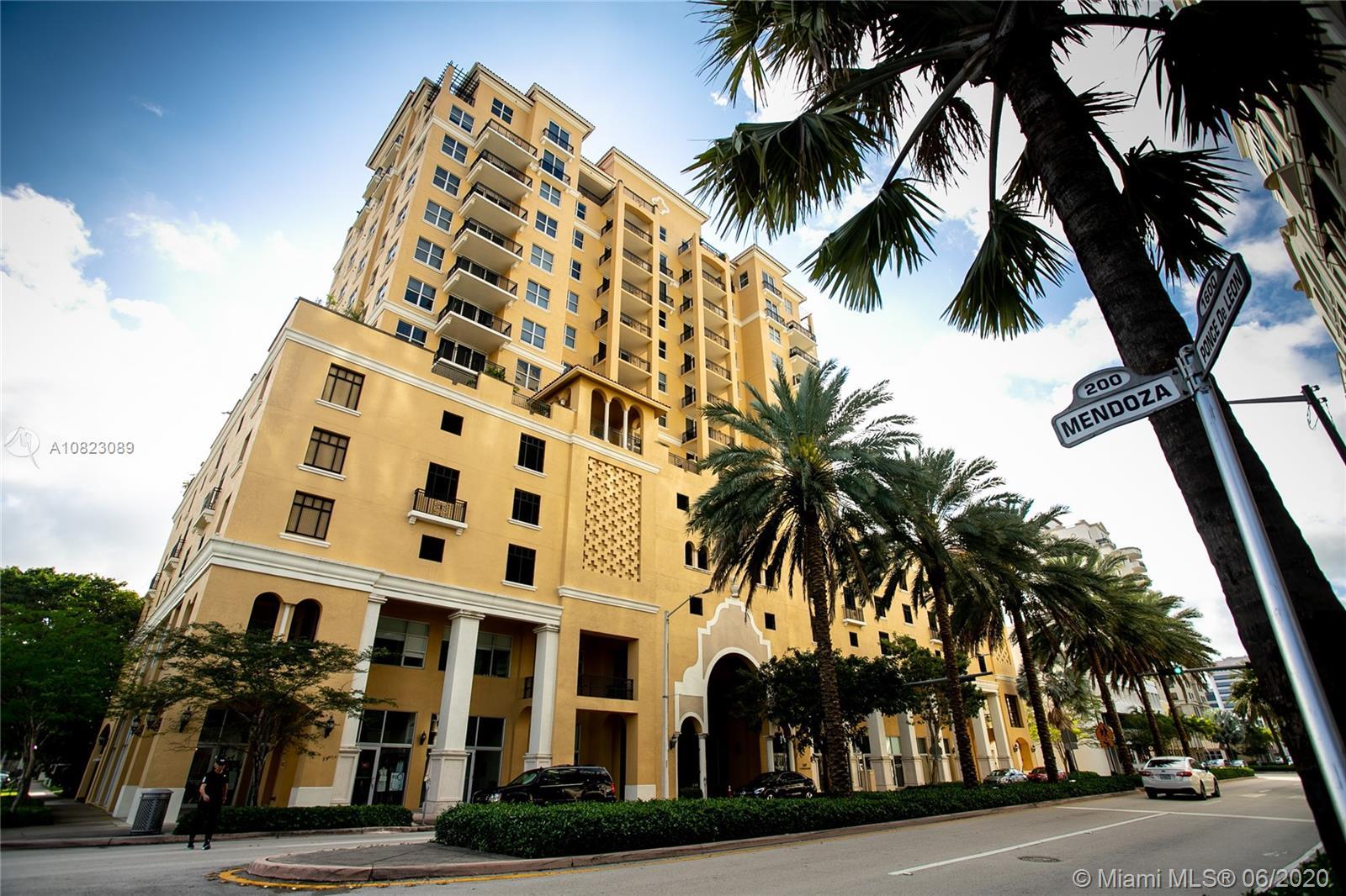 1607  Ponce De Leon Blvd #203 For Sale A10823089, FL
