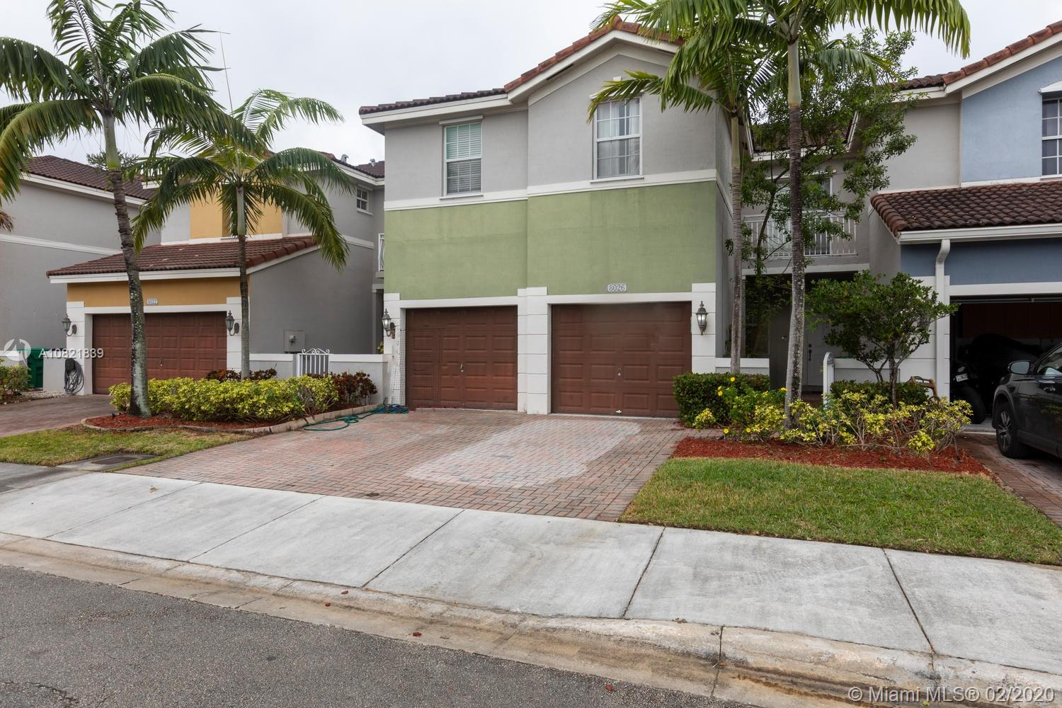 8026 NW 116th Ave  For Sale A10821839, FL