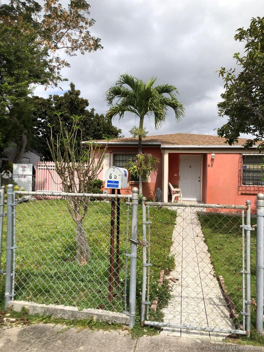 65 NW 123rd St  For Sale A10823587, FL