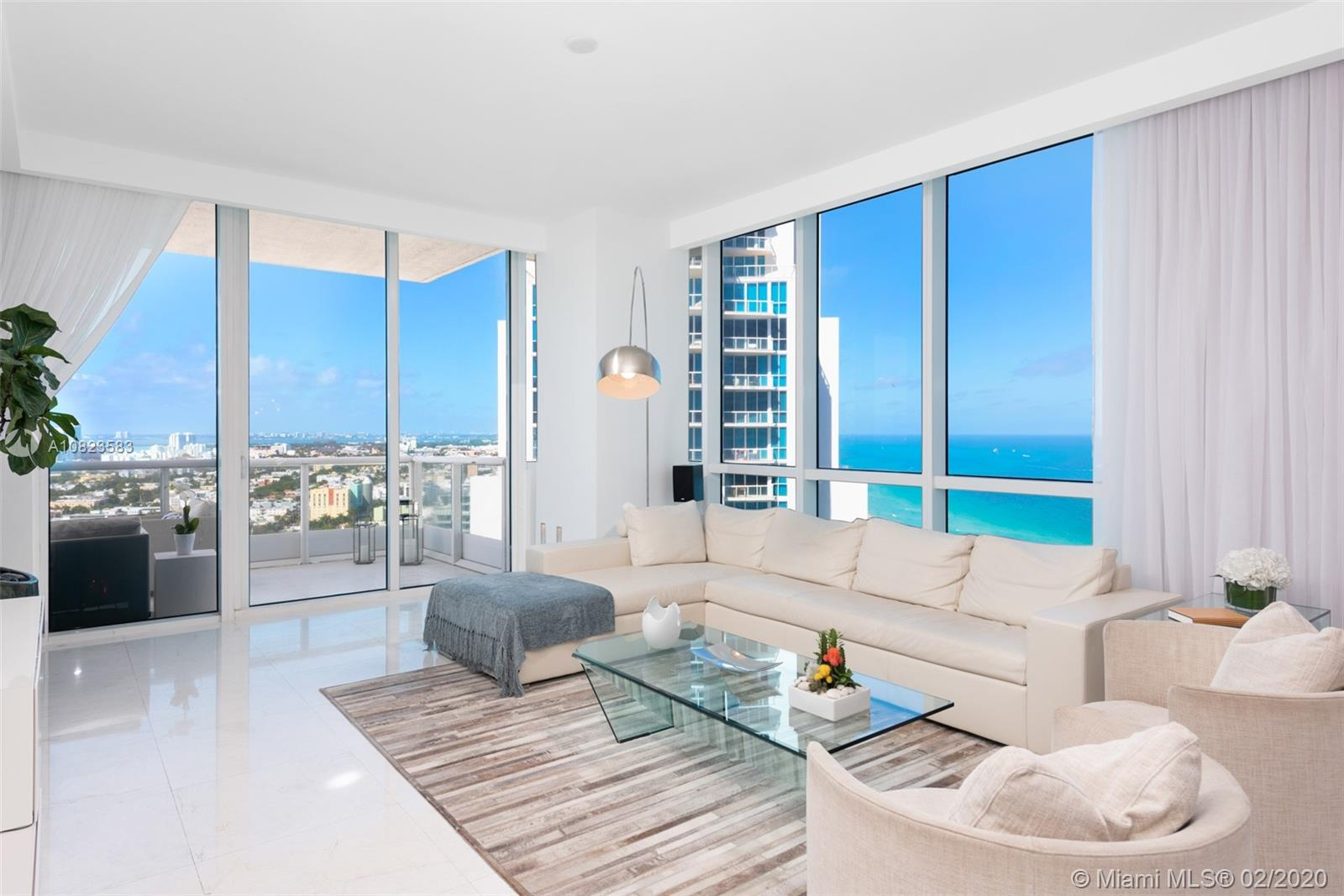 100 S Pointe Dr #2709 For Sale A10823583, FL