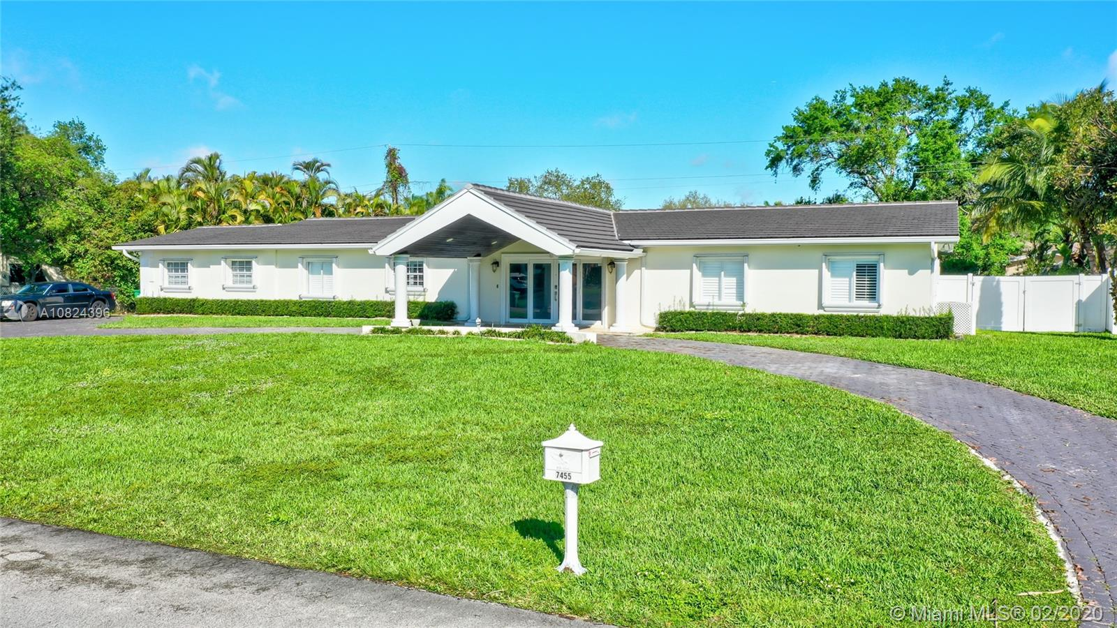 7455 SW 173rd St  For Sale A10824396, FL