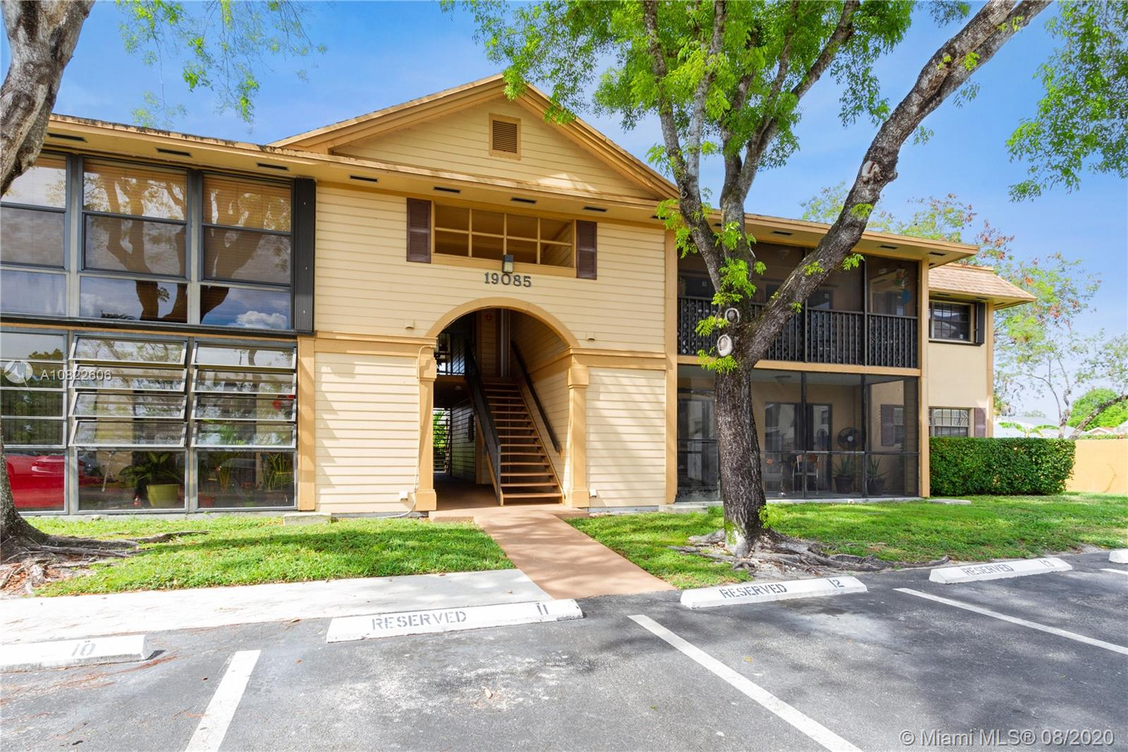 19085 NW 62nd Ave #107 For Sale A10822606, FL