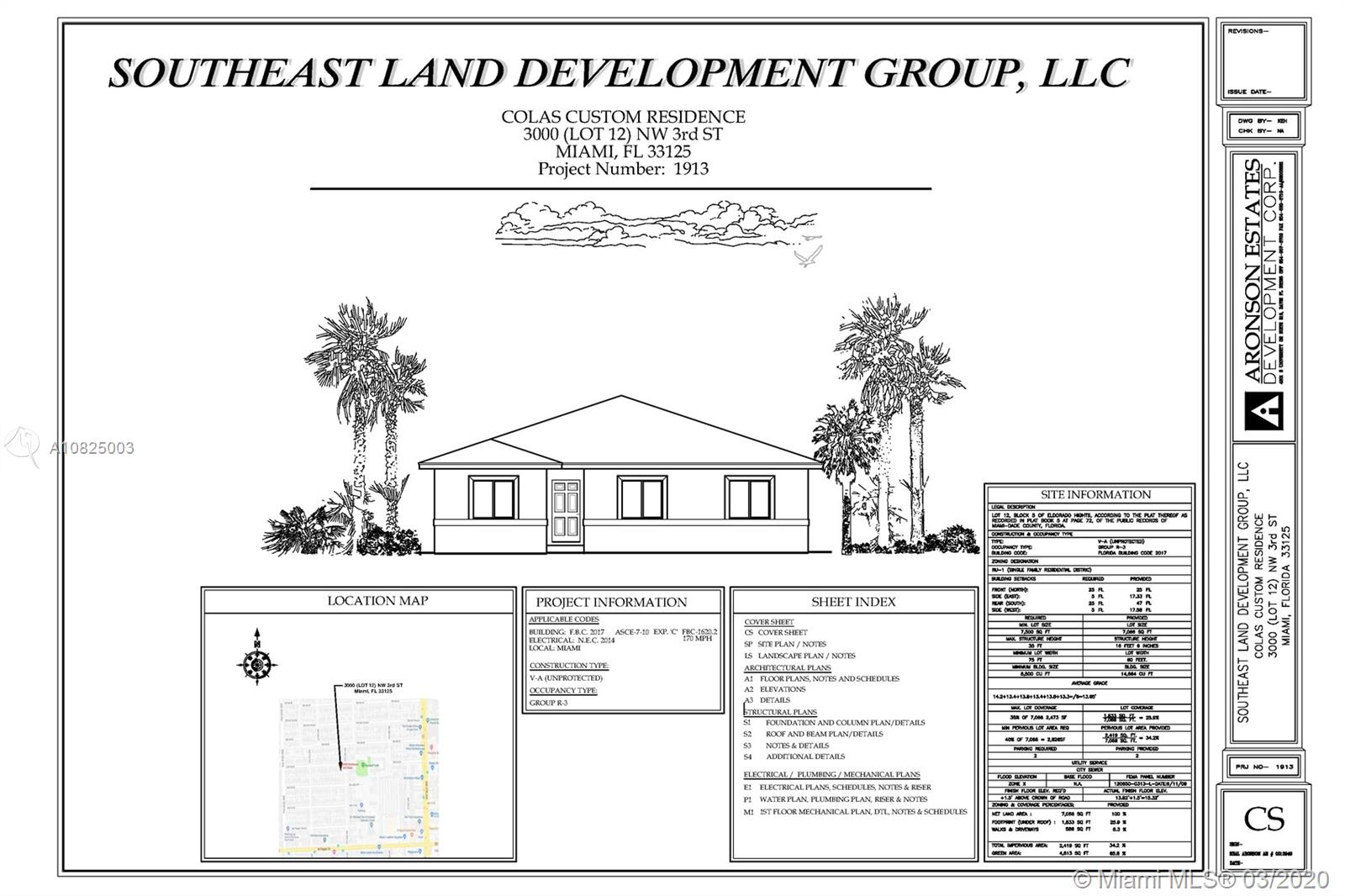 3000 NW 3rd St  For Sale A10825003, FL