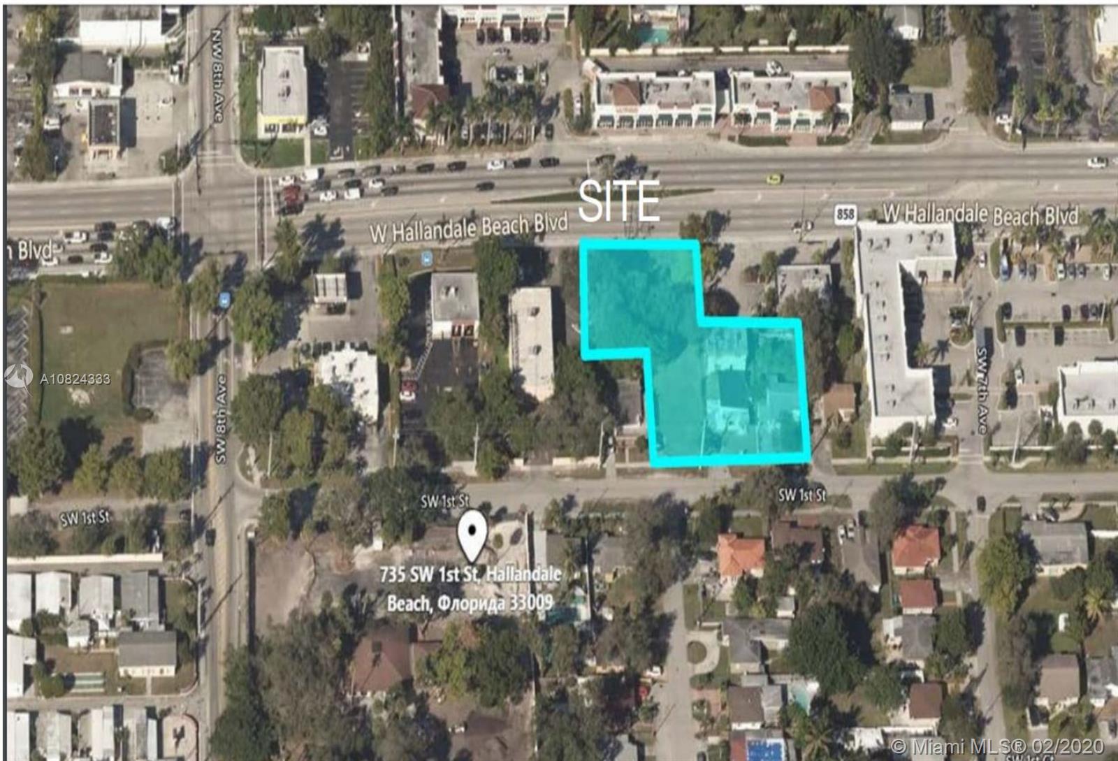 721 W Hallandale Beach Blvd  For Sale A10824333, FL
