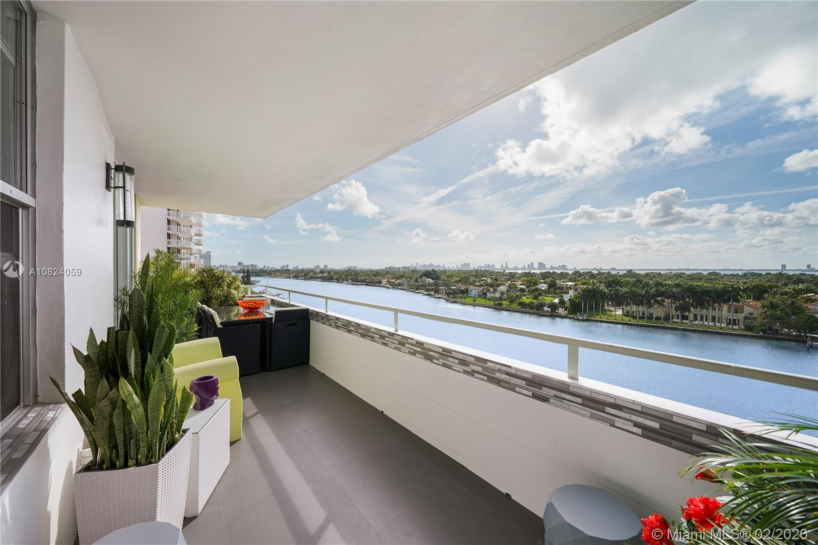 """FULLY remodeled 2 bedroom on the Millionaire's Row!! Enjoy the breathtaking views from every room of the Bay, Miami Skyline, and the sunset! 1,750 SqFt of interior living space & large balcony with full privacy, this generously sized property is perfect as a full time residence or spectacular vacation home. This corner unit features white porcelain flooring, spacious and bright dining & living area, fully remodeled kitchen & bathrooms. Impact windows throughout. Resort-style building featuring amenities such as fitness center, pool with cabanas, lounge with card/billiards room, pool table, high-speed cabling Internet (included in the maintenance), barbecue area, a restaurant, 24/7 doorman, valet, and MARINA to park your boat.BEST LINE IN THE BUILDING & ONLY UNIT AVAILABLE FOR SALE """"F"""""""