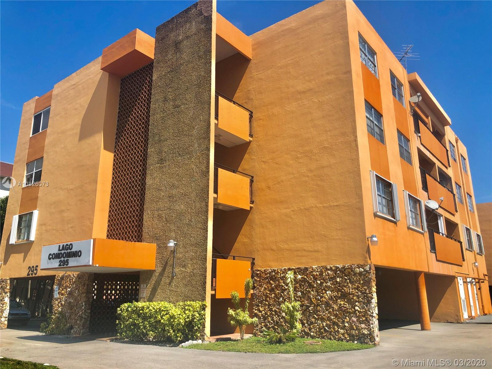 295 NW 72nd Ave #209 For Sale A10826073, FL