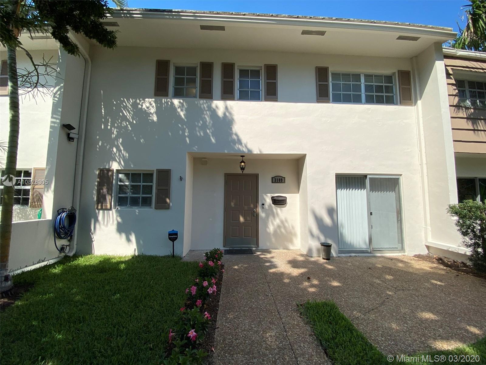 Beautiful/modern large 2 story, 3 bedroom , 2 1/2 bath townhome with expansive back yard overlooking a lake. first floor lanai, second floor screened balcony off bedrooms . Gorgeous contemporary finishes!!! Working fireplace, brand new AC! Brand New SS Appliances MUST SEE! brand new Washer/dryer in unit! Golf Course community, and walking distance to casino, entertainment, and to be build resort area! only miles from Beach! Association maintains roof, landscaping, internet, water, etc. etc!