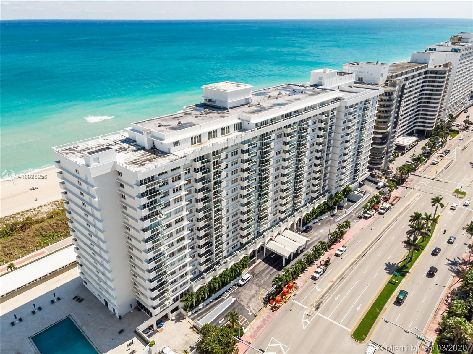 5601  Collins Ave #612A For Sale A10826256, FL