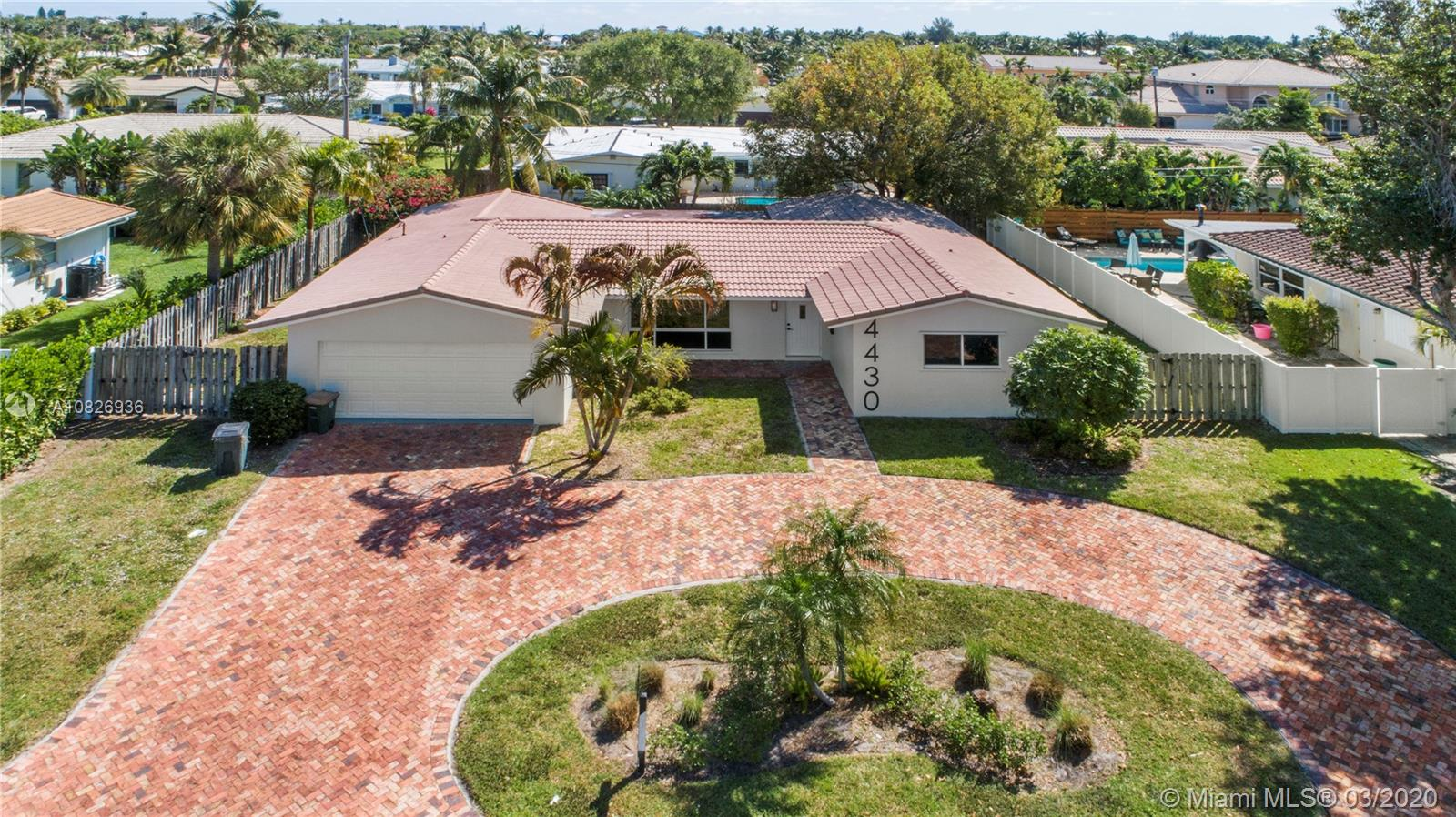 4430 NE 28th Ter  For Sale A10826936, FL