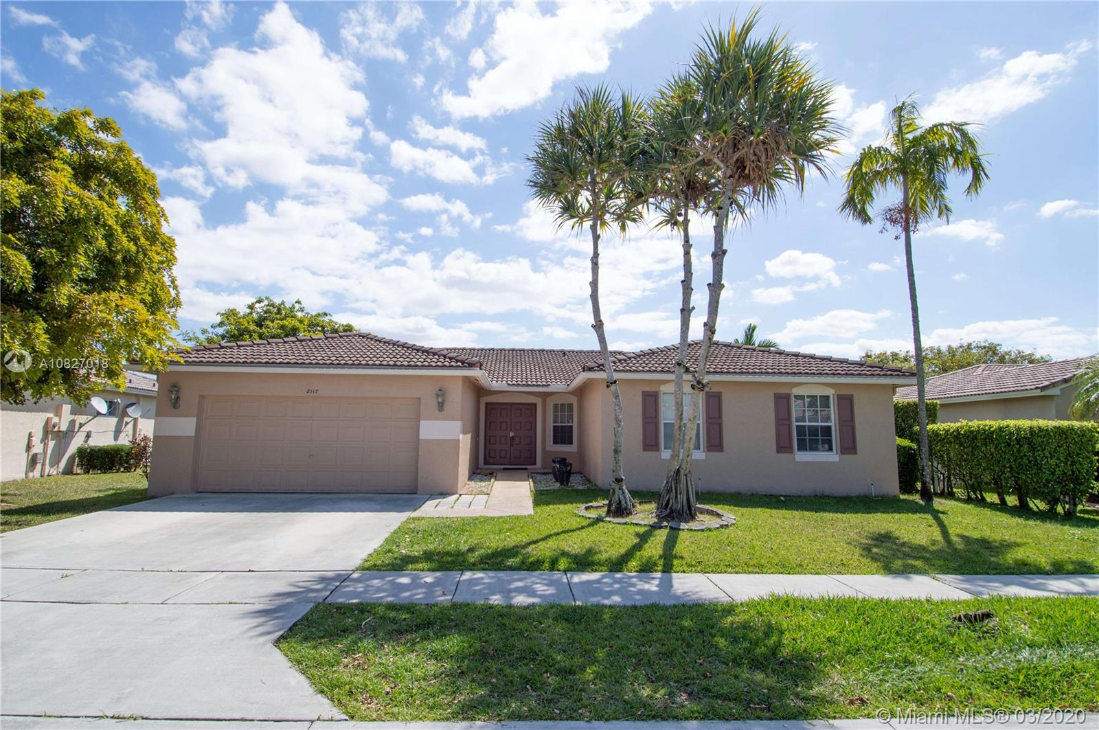 2117 SW 119th Ave  For Sale A10827018, FL