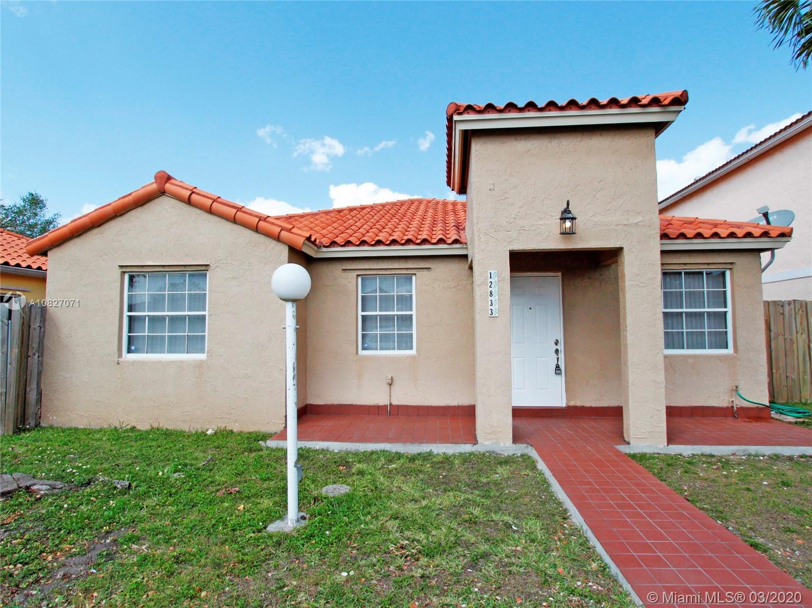 12833 SW 150th Ter  For Sale A10827071, FL