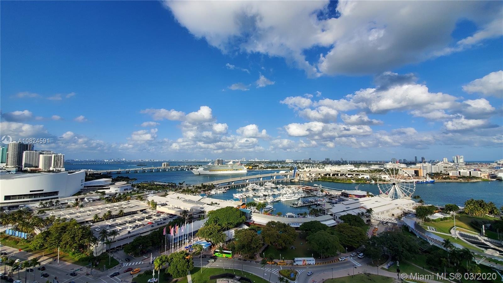 244  Biscayne Blvd #2102 For Sale A10824591, FL