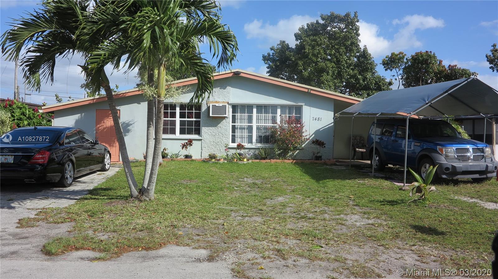 7481  Douglas St  For Sale A10827872, FL