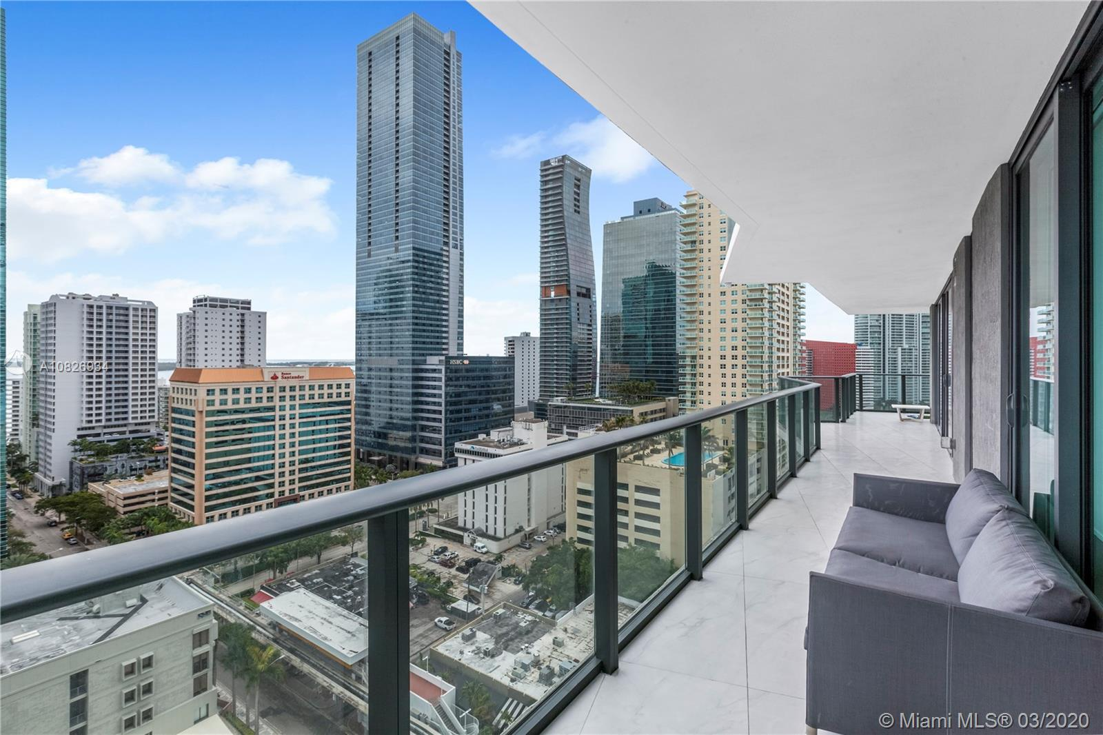 1300 S Miami Ave #1705 For Sale A10826934, FL