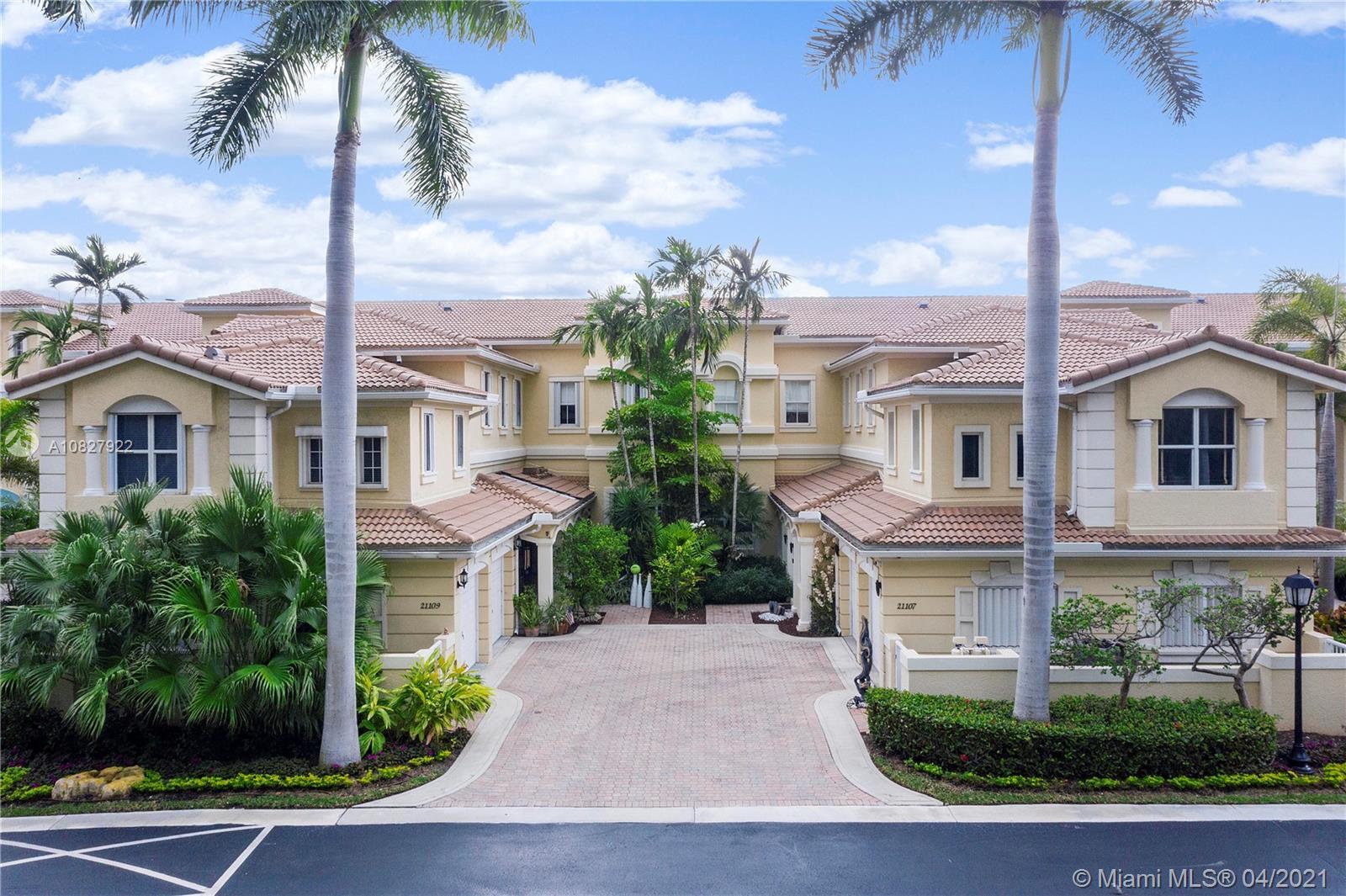 21109 NE 38th Ave #74 For Sale A10827922, FL