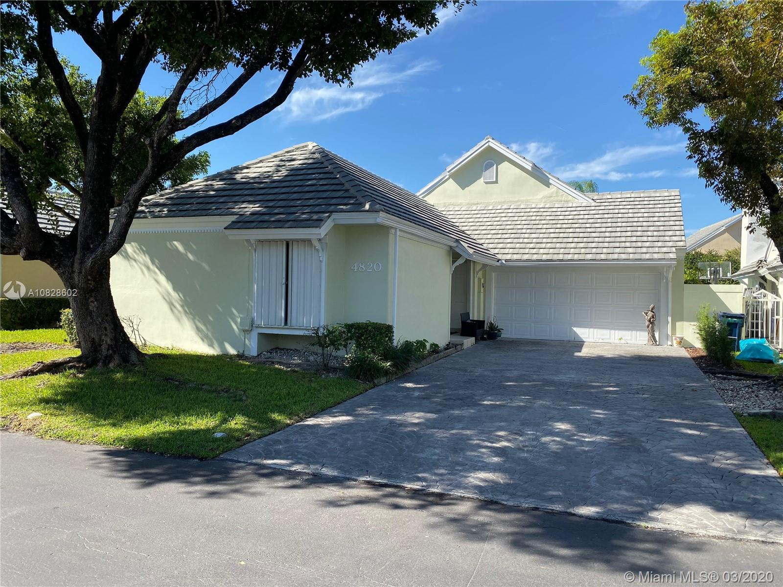 4820 NW 98th Pl  For Sale A10828602, FL