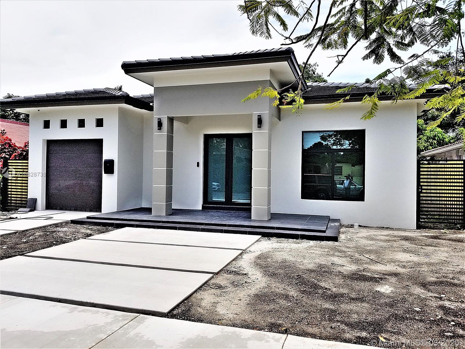 UNDER CONSTRUCTION,,,OFFERED AT PRE-CONSTRUCTION PRICE,,,BRAND NEW HOME,,,ESTIMATED COMPLETION DATE: LATE SEPT. 2020,,,3 BEDS + 2.5 BATHS,,,APROX. 2,161 SQFT UNDER A/C AREAS,,,CENTRALLY LOCATED BETWEEN CORAL GABLES AND BRICKELL,,,COVERED TERRACE & LARGE PATIO (ROOM FOR POOL),,,LOT SIZE: 7,150 SQFT,,,PORCELAIN TILES,,,SMART HOME SYSTEM WITH ALARM & CAMERAS,,,S.STEEL APPLIANCES WITH QUARTZ COUNTERTOPS,,,**(ALL FINISHES WILL BE SAME OR SIMILAR TO THE ONES ON PICTURES)**
