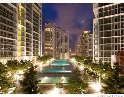 Luxurious High-Rise Condo on Brickell Ave. Unit is on 37 Floor and has amazing bay, city, and pool views. Resort amenities include: gym, Olympic size pool, spa, hot tub, restaurant and bar, access to Viceroy Hotel. Just minutes from Downtown Miami, Airport, SoBe, Aventura. Easy Access I-95. Brand new unit. Blackout shades in bedrooms, California Closets, and Fresh Paint. Walking distance from amazing Brickell City Center Mall, Mary Brickell Village restaurants and shops, financial district, bay side walks, Publix, whole foods Market, metromover/Metrorail 5th station and much more.  *** Tenant lease will expire March 15/2022, and buyer must honor the lease***