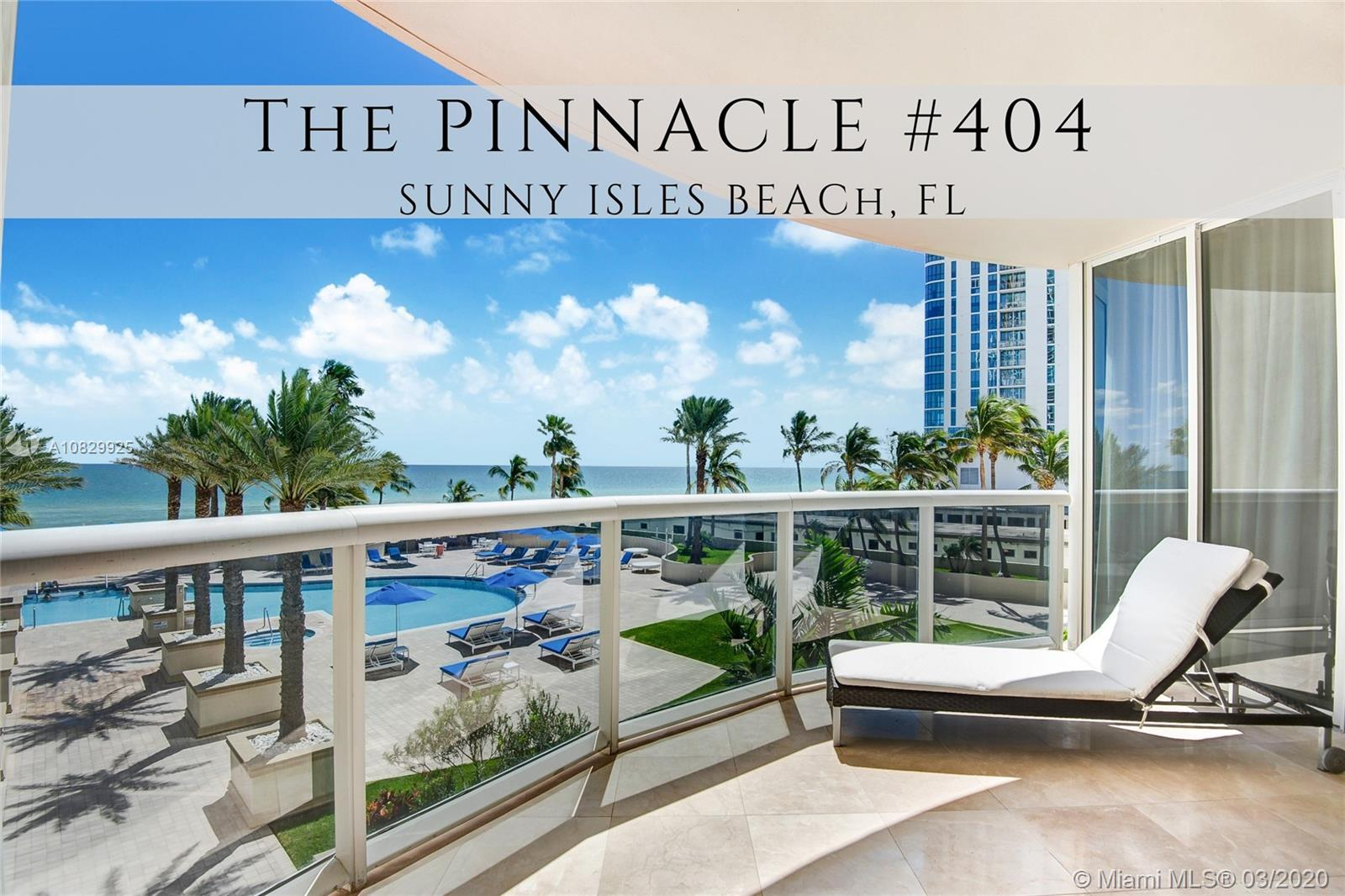 17555  Collins Ave #404 For Sale A10829925, FL