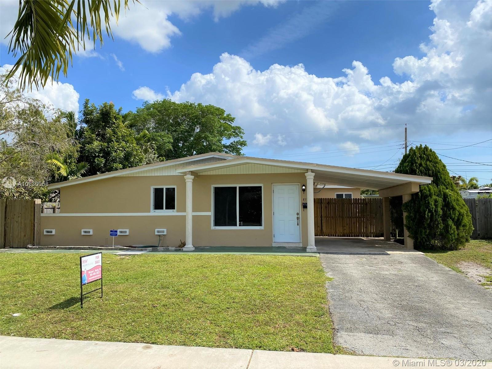 8135 SW 99th Ave  For Sale A10830058, FL