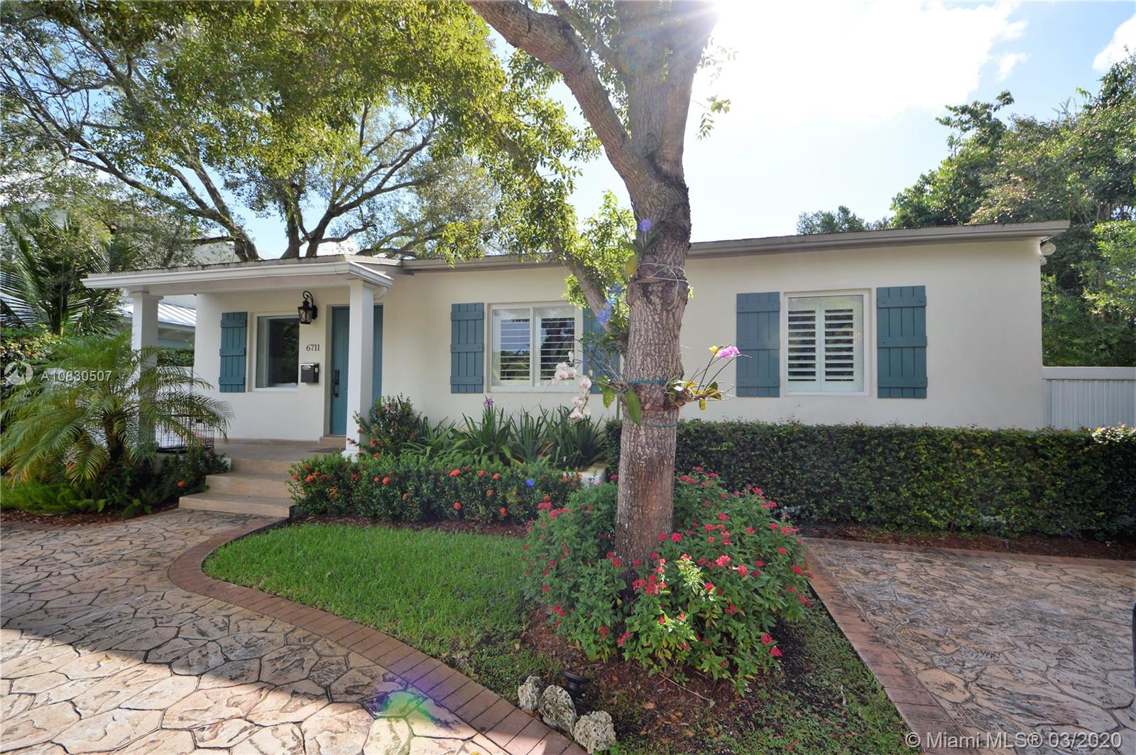 Cozy home in the desirable South Miami area, this house with 5 bedrooms and 3.5 baths was totally remodeled in late 2014. A large family room and convenient porch, relaxing pool and tiki place make it the perfect house for entertaining! This highly desirable area is close to everything including UM, shopping, restaurants, schools, etc. Come see this great home as it won't last!
