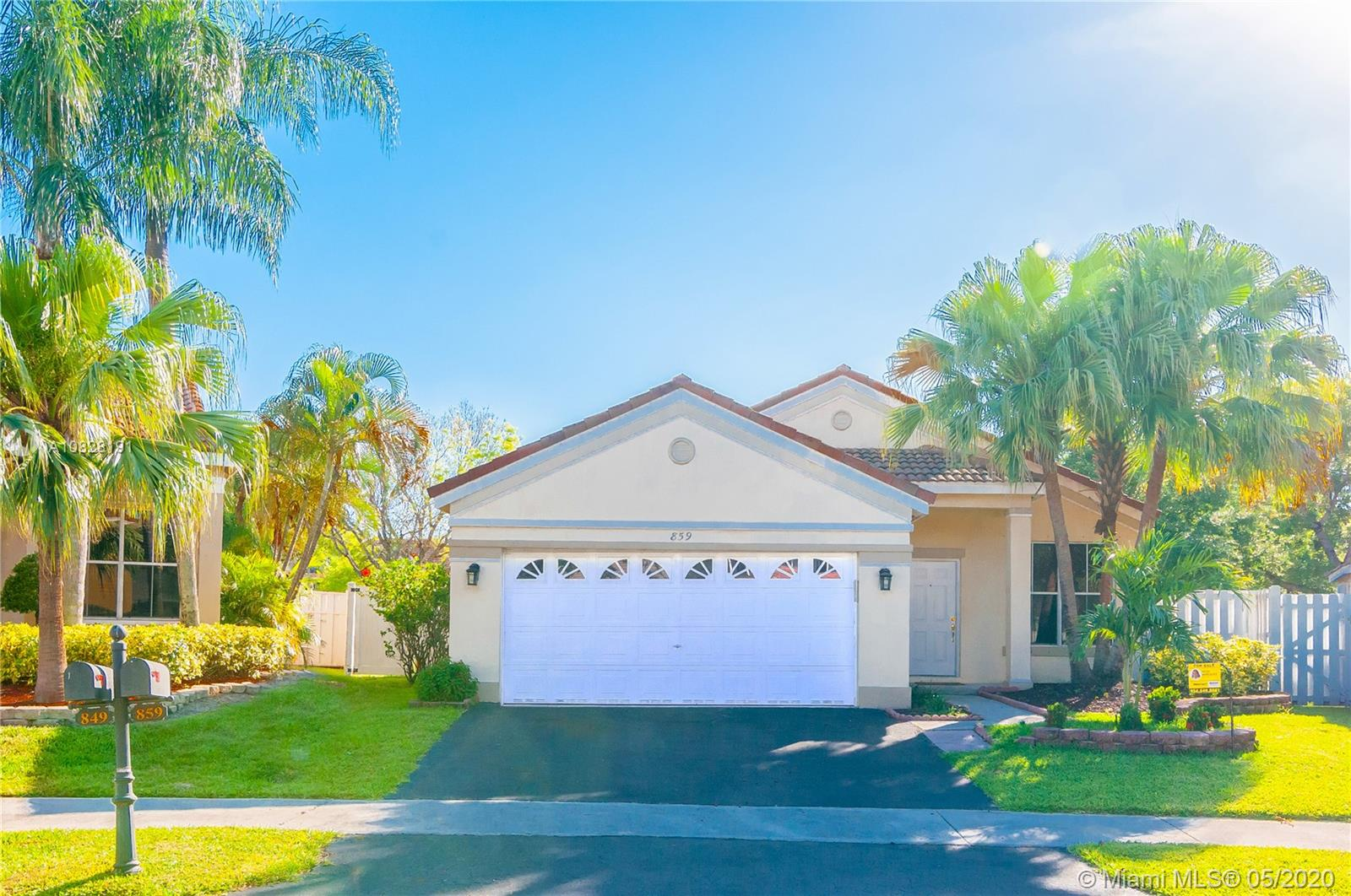 859  Falling Water Rd  For Sale A10828191, FL