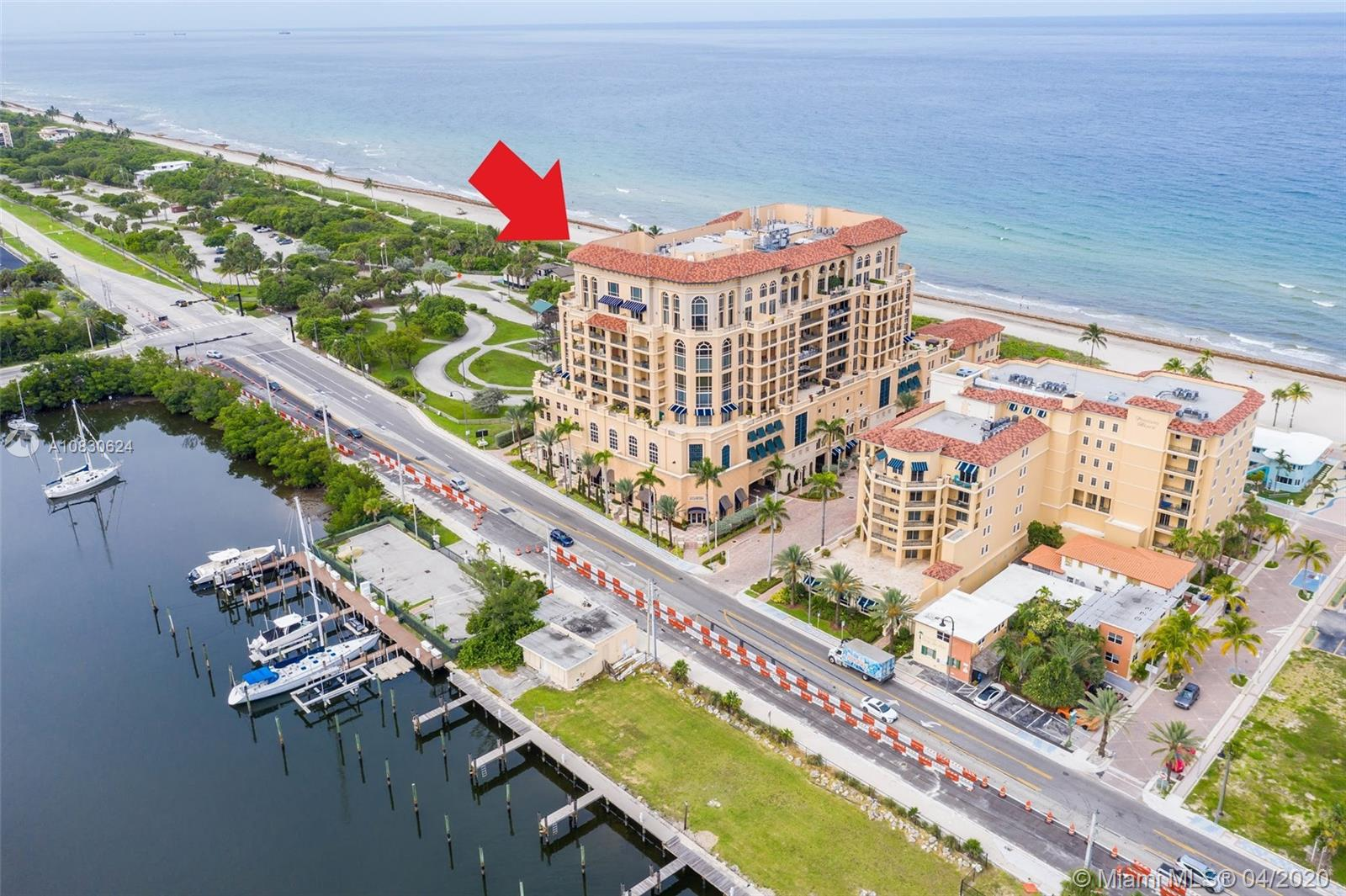This spectacular apartment has the BEST, PRIVILEGED and PRIVATE, NORTH SIDE location  of this stunning Mediterranean Style building on the Beach, with AMAZING, UNIQUE, PRIVATE and UNINTERRUPTED VIEWS to the OCEAN, INTRACOASTAL and PARK. You can enjoy all these views from relaxing on any of your beds, living sofas or just sitting down in the EXTENDED COVERED and UNCOVERED TERRACE with approximately 1,000 Sf, with direct access from each bedroom and living-dining areas to the huge terrace,  This luxury apartment is one of a kind unit. The moment you see it, you will NEED to have it!