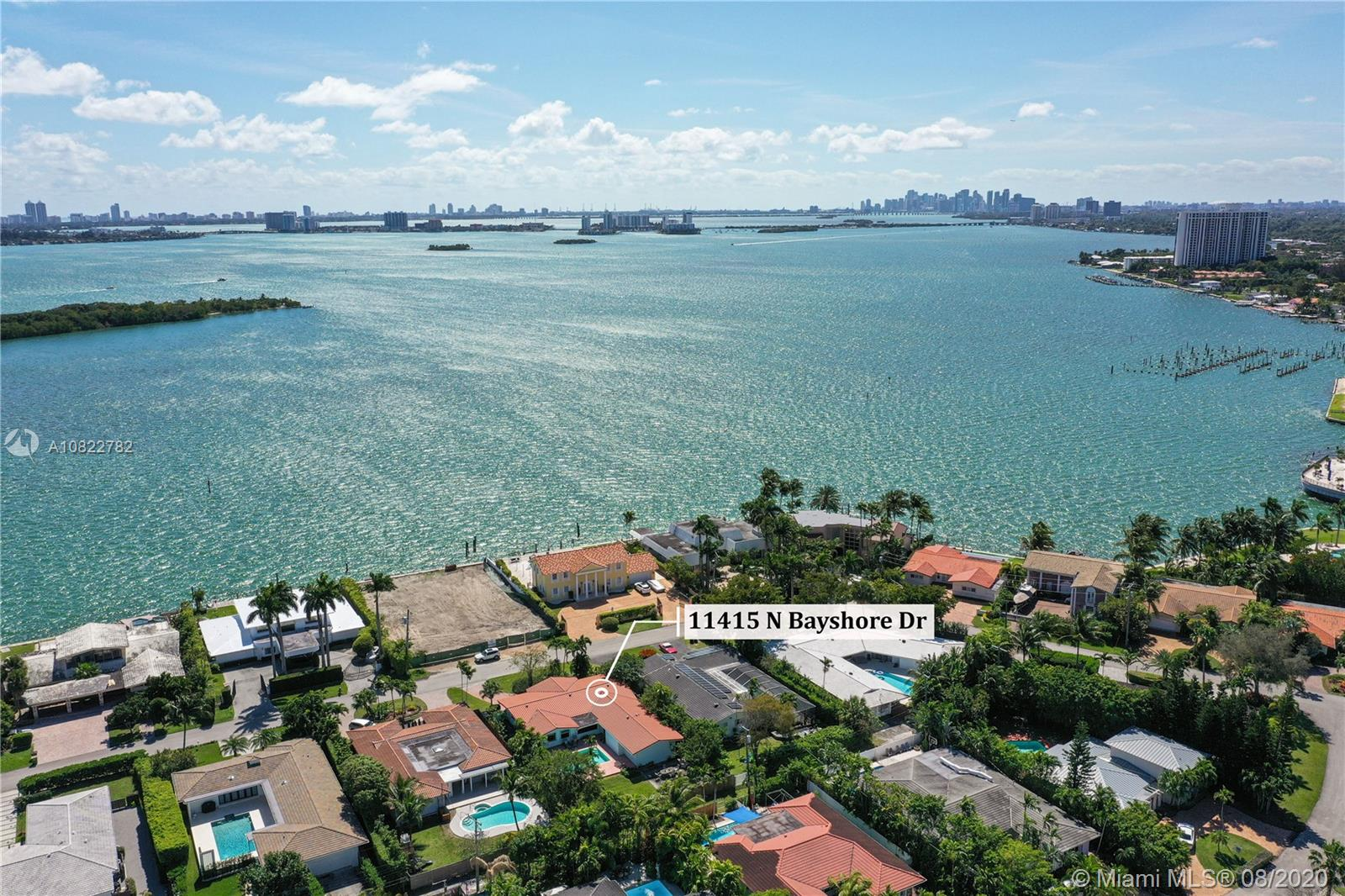 11415 N Bayshore Dr  For Sale A10822782, FL