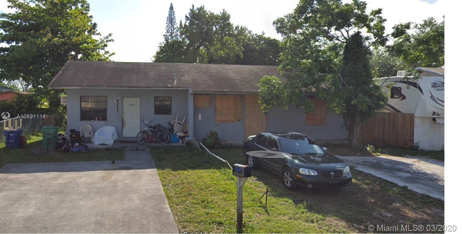 7981 NW 12th Pl  For Sale A10831114, FL
