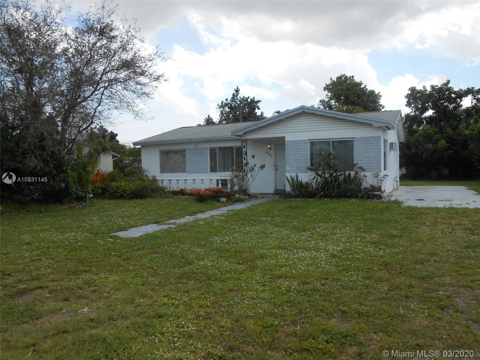 6330  Plunkett St  For Sale A10831145, FL