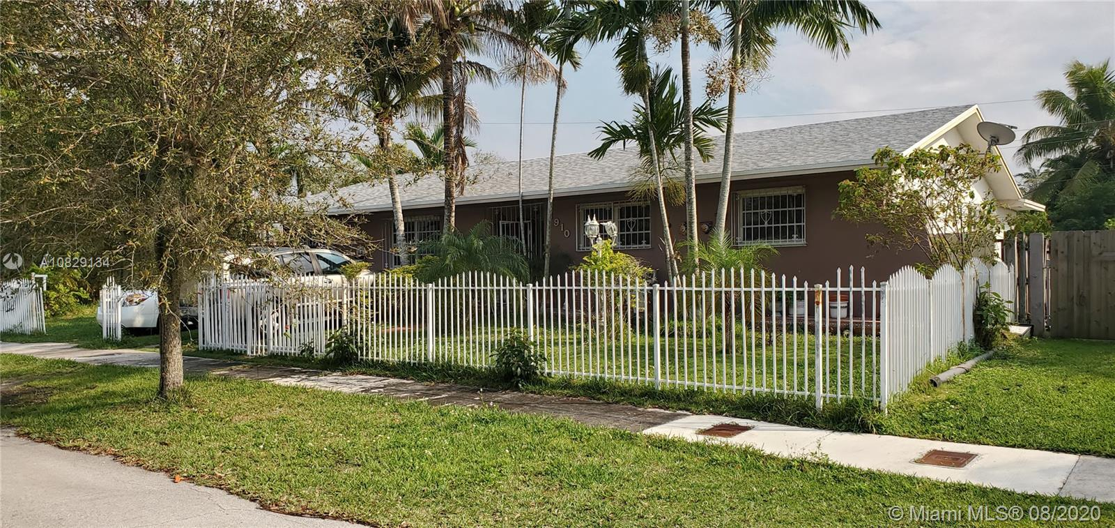 8910 SW 187th St  For Sale A10829134, FL