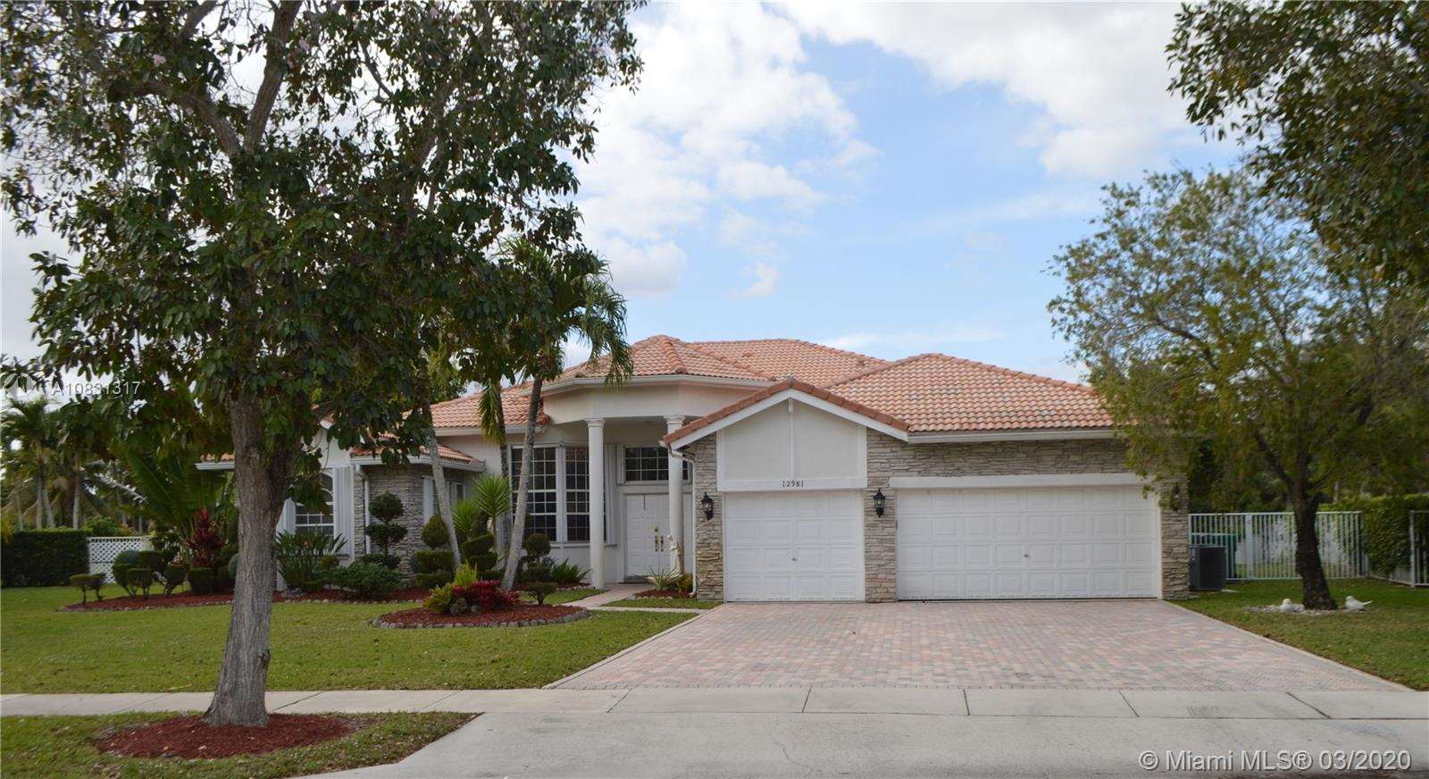 12981  Country Glen Dr  For Sale A10831317, FL