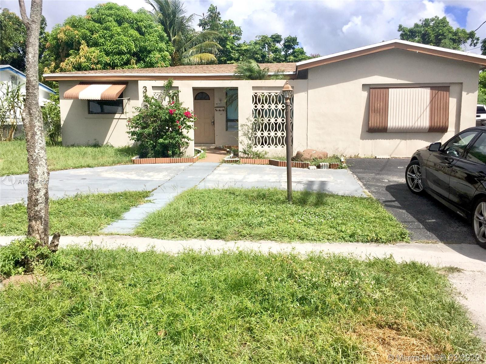 INSTANT EQUITY! TERRIFIC POOL PLUS LAKEFRONT HOME IN UP AND COMING LAUDERDALE LAKES LOCATION CLOSE TO EVERYTHING. THIS SPACIOUS -1700 SQUARE FEET - SPLIT LEVEL 3 BEDROOM 2 BATHROOM HOME HAS BEEN COMPLETELY REMODELED TO REFLECT A MODERN FLAIR WITH BRAND NEW EVERYTHING INCLUDING BRAND NEW KITCHEN, UPDATED BATHROOMS WITH PORCELAIN FLOORING, CHERRY WOOD BRAZILIAN LAMINATE THROUGHOUT, BRAND NEW PERMITTED ROOF LESS THAN 2 YEARS OLD AND NEWER AIR CONDITIONING SYSTEM. PERFECT FOR ENTERTAINING THIS HOME OFFERS A POOL WITH GORGEOUS VIEWS OF THE LAKE. FRESHLY PAINTED. FHA AND AND VA BUYERS OK. TEXT LA FOR SHOWING INSTRUCTIONS.