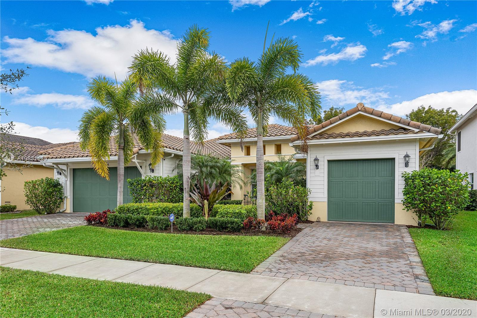 Still easy to show at your convenience! Must see beautiful 4 bedroom, 3 Bath, 3 car garage Cypress Model in the Sawgrass Bay section of Heron Bay. The open floor plan with high ceilings allows for lots of natural light. This home features wood floors, crown molding, plantation shutters throughout, impact glass, a gourmet kitchen with natural gas cooktop, stainless steel appliances and upgraded cabinets, tray ceilings in multiple rooms, designer chandeliers, covered lanai, private backyard with free form pool and spacious brick paver pool deck, and more. Heron Bay is a great place to live with two clubhouses, resort style amenities and great schools. Make an appointment to visit Parkland and view this exceptional location and beautiful home. All bedroom carpeting and 1 a/c recently replaced