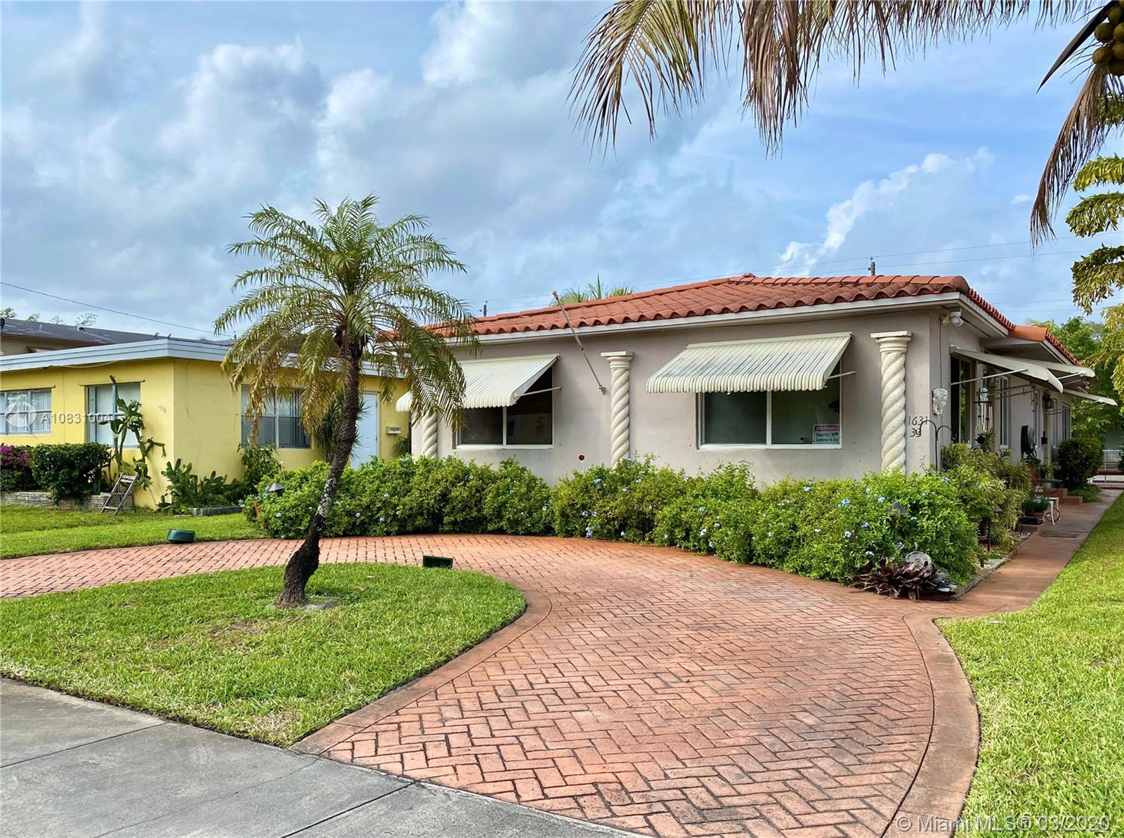1633  Dewey St #2 For Sale A10831004, FL