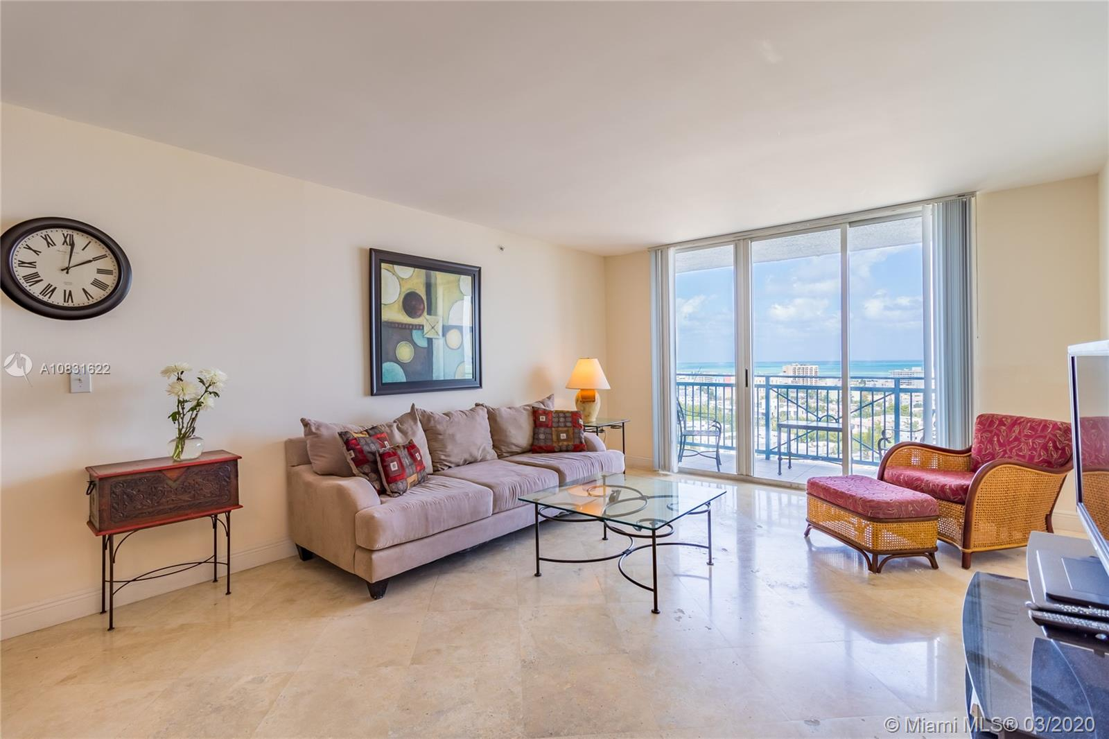 90  Alton Rd #1909 For Sale A10831622, FL