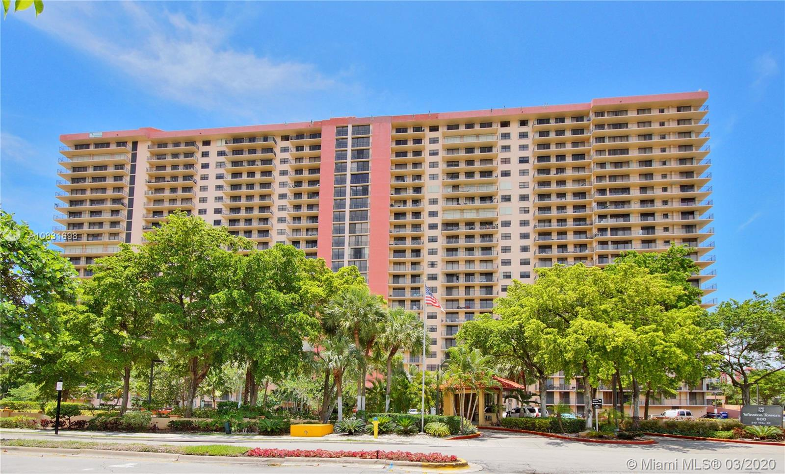 210  174th St #2117 For Sale A10831698, FL
