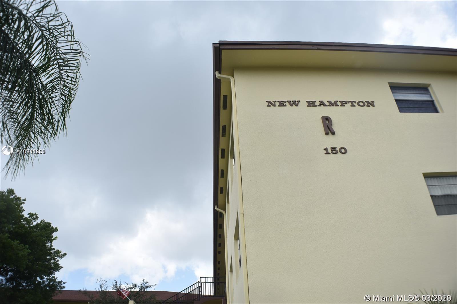150 SW 134th Way #311R For Sale A10831961, FL