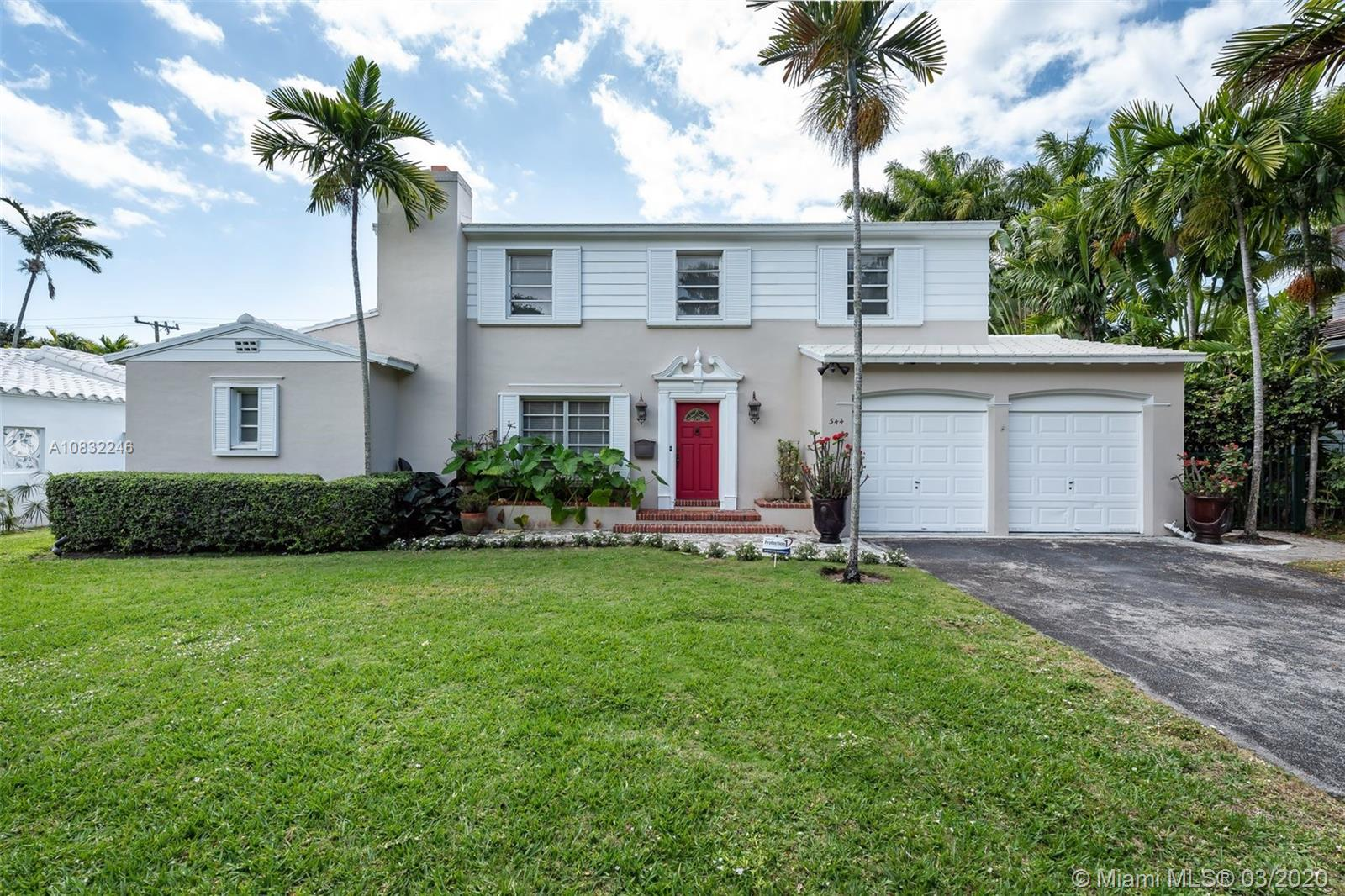 544 NE 55th St  For Sale A10832246, FL