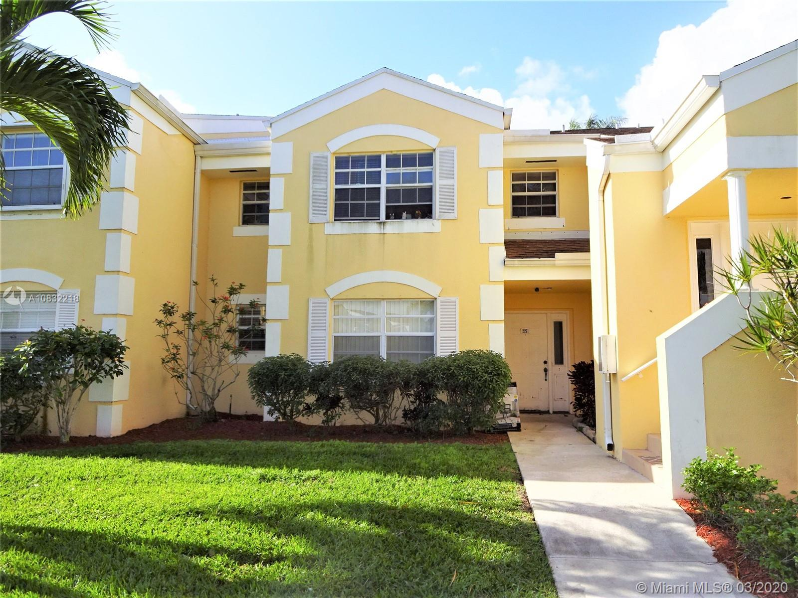 2271 SE 27 Dr #104-F For Sale A10832218, FL