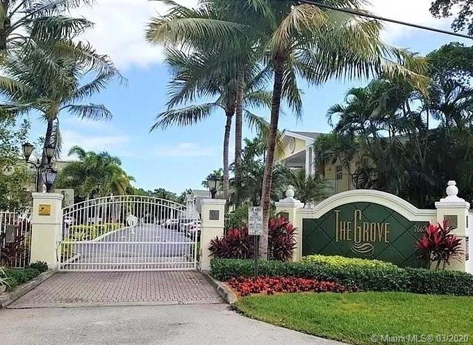 "This gated 2 bedroom & 1 bath ground floor condo is centrally located in Wilton Manors just a few blocks away from ""all the action"" on Wilton Dr. with easy access to I-95 and boasts a very low crime rate in a well-kept condominium and townhouse neighborhood. Built in the Key West style, there is a community pool, deck, & small clubhouse on-site. An assigned parking spot is right outside your door. Enter into a well-lit living room/dining room area. Neutral tile is laid on the diagonal throughout the entire unit. There are brand new stainless steel appliances, garbage disposal, and a stainless steel sink just installed. There are 2 bedrooms of equal size, both with a wall closet. The efficient air-conditioner was replaced 6 months ago. two pets up to 30 lbs. are allowed by the HOA."