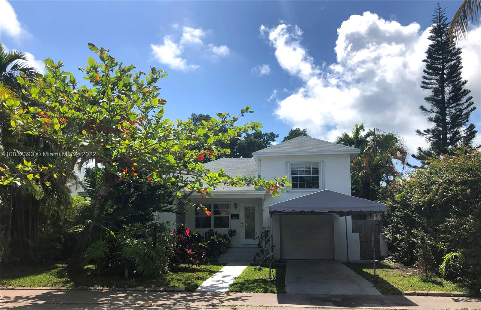 AWESOME POSITIVE ENERGY HOUSE, if you feel it if for you! Perfect Living opportunity in Miami Beach! Gas stove, stand by gas water heater, gas dryer. Accordion shutters on all windows only two remaining hurricane panels. Impact doors including garage. Terrazzo floor all spaces, tile in kitchen. No HOA, No rental restrictions, Pet-friendly, in the desirable neighborhood of Normandy Isle. Great Golf court, walking distance to all kinds of restaurants and park and pool community center. And the best, it is only 5 minutes away from the beach. What could I say? LOCATION!. Besides the 4 bedrooms, (one bed converted), this is a big house. The backyard is one of its best features. It's big enough to host many events. Come to see it and bring your offer.