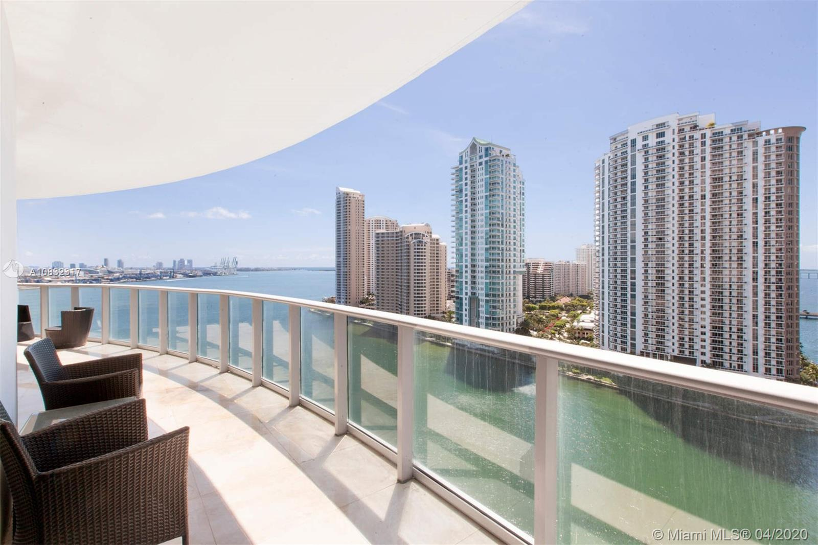 300 S Biscayne Blvd #T-1608 For Sale A10832317, FL