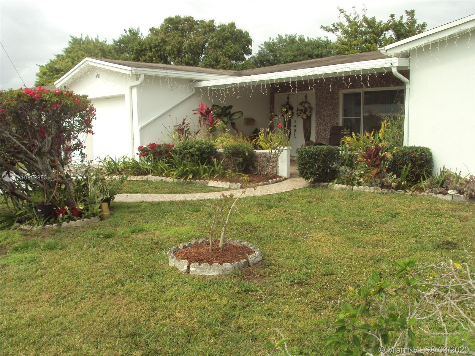 Pride of ownership as you enter this home . Upgraded kitchen with all new appliances. All impact windows for the comfort of the new owner.Wood flooring in all the bedrooms . The master bedroom features a big walk in closet . A/c is only 5 years old . There is a covered back patio for your relaxing pleasure. The huge backyard has several fruit trees .  This is a 55+ community .  Take a contract when you show this one