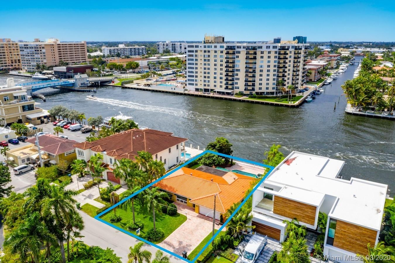 "PRICED TO SELL FAST! | DIRECT INTRACOASTAL HOME IN THE SILVER SHORES SECTION PART OF TOWN IN LAUDERDALE-BY-THE-SEA | 4431 WEST TRADEWINDS AVE.| 2,592 SQ.FT. | 3 BEDROOM / 2 BATHROOM HOME | LARGE POOL & HOT TUB | ONE OF THE LAST HOMES REMAINING ON THE STREET TO BE TO BE REMODELED OR REDEVELOPED | RARELY AVAILABLE LOT IN A ""NO WAKE"" ZONE, MAKING IT POSSIBLE TO KEEP A BOAT UP TO APPROX. 65' FEET DIRECTLY BEHIND YOUR HOME IN A PROTECTED WAKE ZONE 