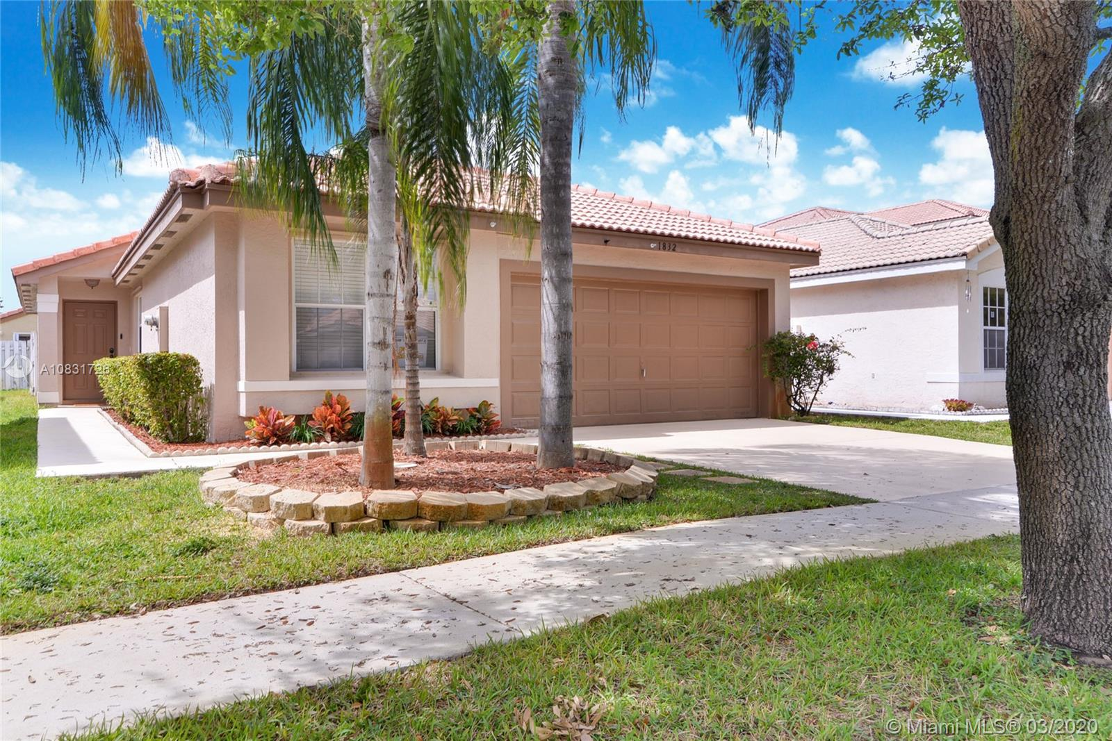 1832 SW 176th Ave  For Sale A10831726, FL