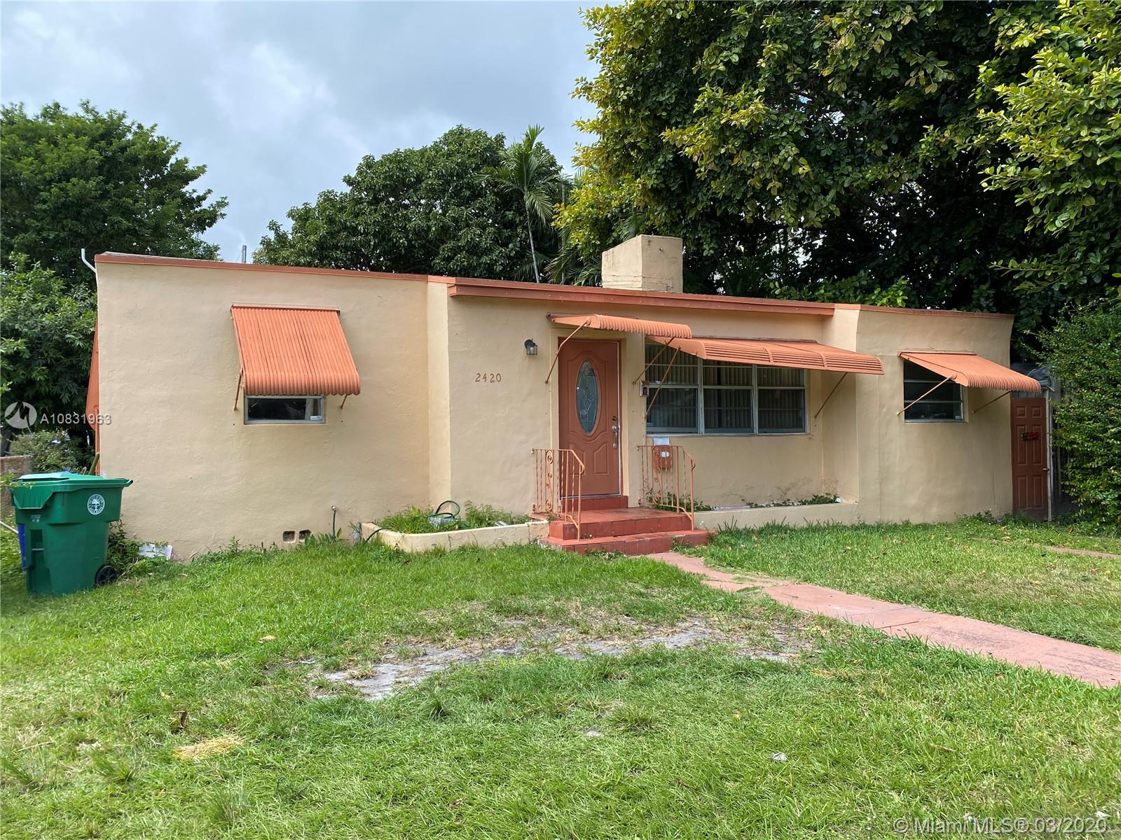 2420 SW 22nd Ave  For Sale A10831963, FL
