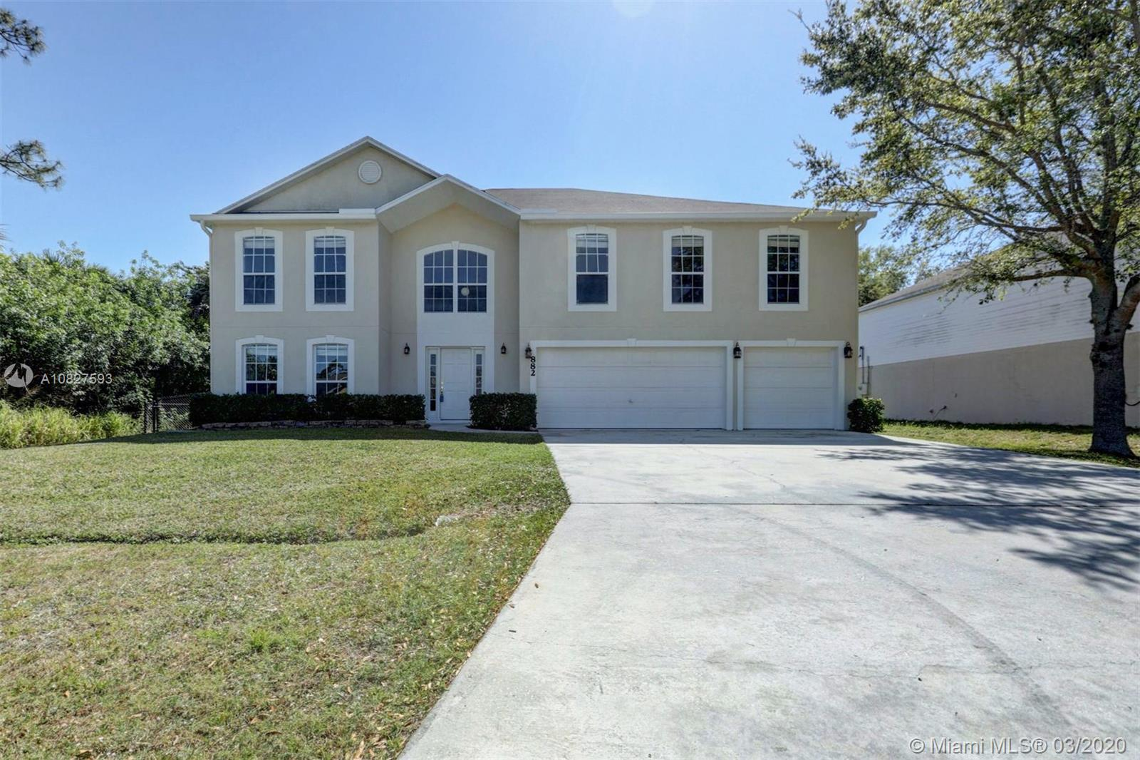 882 SW Abingdon Ave, Port St. Lucie, FL 34953